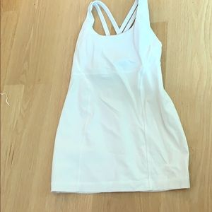 Lululemon white tank tank top price is negotiable